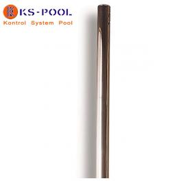 Poste con polea para piscinas de competicion