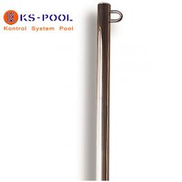 Poste con anilla para piscinas de competicion