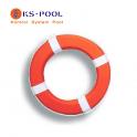 Aro salvavidas forrado lona para piscinas y otros