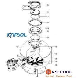 Repuestos / recambios filtro ARTIK AK EVO Kripsol