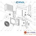 Repuestos bomba de calor KRIPSOL RC600