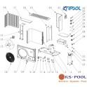 Repuestos bomba de calor KOMFORT RC1200 KRIPSOL