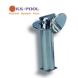 Anclaje 1 alojamiento acero inox. para corcheras de piscinas competicion
