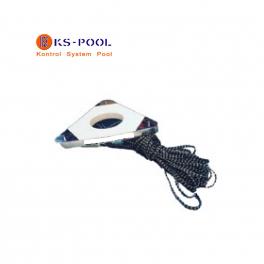 Saque central competición waterpolo para piscinas