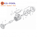 Repuestos / recambios bomba KS-KSE Koral Kripsol Hayward piscina