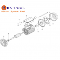 Repuestos / recambios bomba Kapri KAP / HCP 3800 Kripsol Hayward piscina