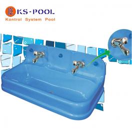Lavabo infantil vestuarios baños piscinas zonas recreativas