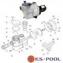 Repuestos / recambios bomba Koral KS / KSE Kripsol piscina