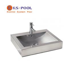 Lavamanos de acero inoxidable para piscinas y exteriores