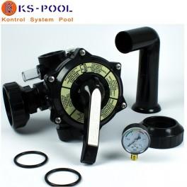 Valvula selectora Coral/Qp para filtro piscinas