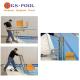 Elevador hidráulico movil / portatil para piscinas que facilita el acceso