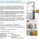 Elevador hidráulico fijo adaptable para piscinas facilita el acceso