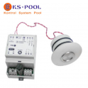 Kit pulsador piezoelectrico completo para spas, piscinas, jacuzzis