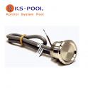 Pulsador piezoelectrico para spas, piscinas, jacuzzi