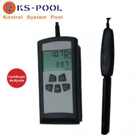 Medidor de calidad del aire para CO2 piscinas publicas, hoteles