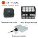Limpiafondos automatico electrico para piscinas