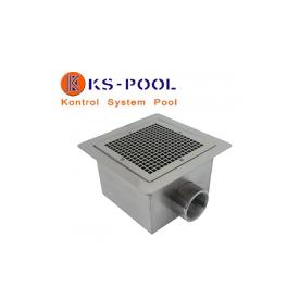 Sumidero de acero inoxidable AISI 316 para piscinas