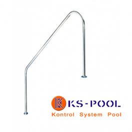 Pasamanos de acero inoxidable AISI316 para piscinas.