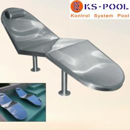 Tumbonas de masajes por aire para spas y piscina