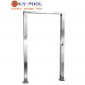 Arco / Puente ducha acero inoxidable AISI 316L para piscinas