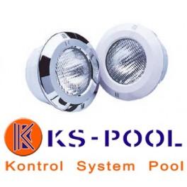 Proyector de nicho LED BLANCO para piscinas de hormigón