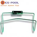 Soporte pared para salvavidas acero inoxidable para piscinas