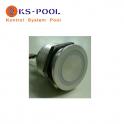 Pulsador piezoelectrico luminoso para spas, piscinas, jacuzzi
