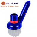 Cepillo rincón limpieza clip piscinas