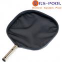 Recogehojas plano profesional fijacion clip piscinas