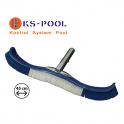 Cepillo curvo largo clip flexible reforzado piscinas