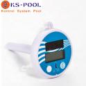 Termometro digital solar flotante para piscinas