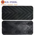 Repuesto antideslizante peldaño escalera kripsol de piscinas, recambios
