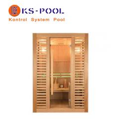Sauna sistema infrarrojos tradicional Vapeur, piscina, balneario