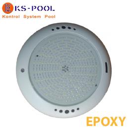 Proyector foco piscina led blanco con resina Epoxy, modelo extra plano