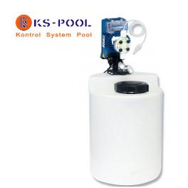 Conjunto dosificador ajuste automatico de ph o rx piscina