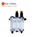 Soporte metacrilato para panel dosificacion de piscina