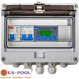 Cuadro eléctrico modulo protectimer para piscinas