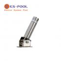 Anclaje abatible AB2 Kripsol Inox. para escaleras de piscinas
