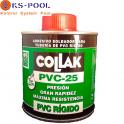 Adhesivo / pegamento Collak para tubos y piezas pvc