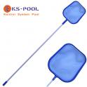 Recogehojas plano con pértiga 1.50cm para piscinas