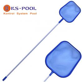 Recogehojas plano con pertija piscinas