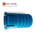 Racord carro limpiafondos para conexión manguera piscina