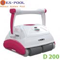 Limpiafondos automático eléctrico piscinas BWT D Line D200