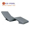 Tumbona de poliestireno de alta densidad para spa, piscina