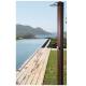 Ducha solar de 30 litros para piscinas Natur Teak Teka
