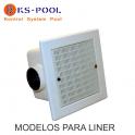 Sumideros para liner de piscinas uso público Hayward / Kripsol