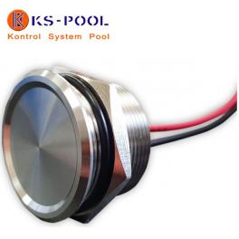 Pulsador piezoelectrico para spas, piscinas, jacuzzis