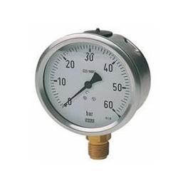Manómetro glicerina para grupo de presión y otros