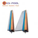 Cascada de agua empotrar en abs resistente para piscina
