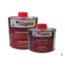 Disolvente / Limpiador de tubos y piezas de PVC